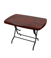 DPL Table 4 Seated Sq St/Leg Rose Wood 86263