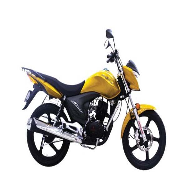JAMUNA MOTOR CYCLE ZEUS 150CC, YELLOW