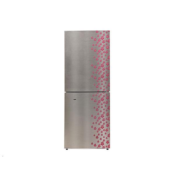 Jamuna Refrigerator JE2-F8JF-GLOSSY SHINING GRAY SILVER FLOWER
