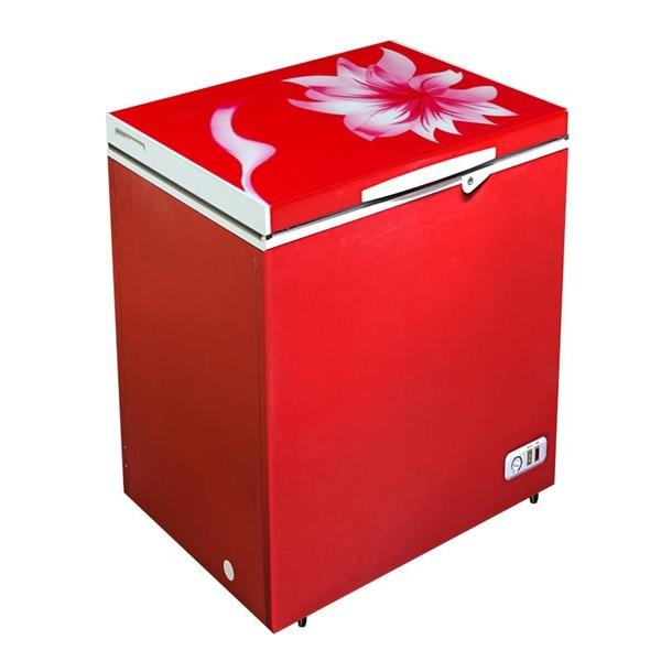 JAMUNA REFRIGERATORS JE GSD 180L RED SUN FLOWER