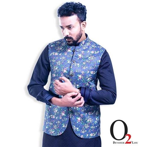 Men's Ethnic Vest Cotton Waist Coat 1079473