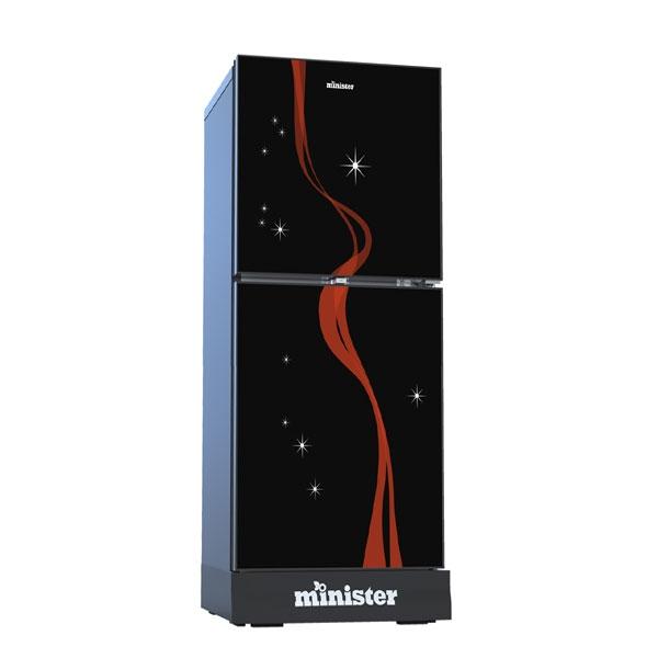 Minister M-350 ORCHID (BLACK MATCH) Refrigerator