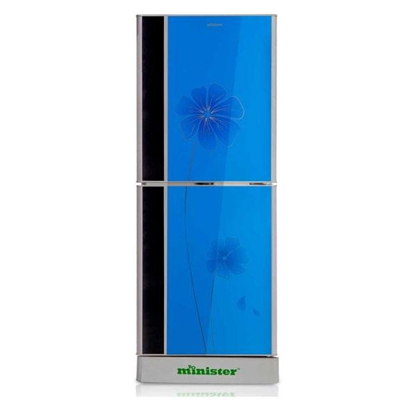 Minister M-355 BLUE LILY (BLACK MATCH) Refrigerator
