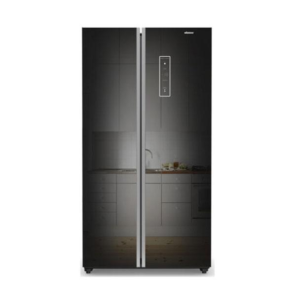 Minister M-573 SBS BLACK Refrigerator