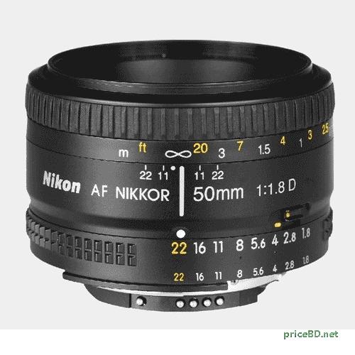 Nikon 50MM 1.8 D Camera Lens
