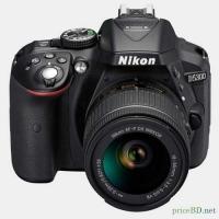 Nikon DSLR Camera Body With AF-S 18-55mm VR Lens D5300