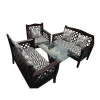 Nurjahan Furniture Flexible Smart Look 5 Pcs Sofa Set  SA-163