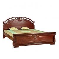 Nurjahan Furniture Malaysian Processed Wood Semi-Box Bed BD -126