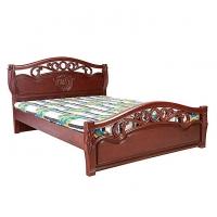 Nurjahan Furniture Malaysian Processed Wood Semi-Box Bed BD -130