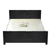 Nurjahan Furniture  Malaysian Processed Wood Semi-Box Design Bed BD-145