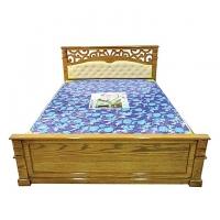 Nurjahan Furniture  Malaysian Processed Wood Semi-Box Design Bed BD 149