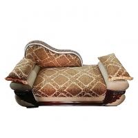 Nurjahan Furniture Malaysian Processed Wood Slim Fit Design Divan Sofa DV 33