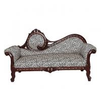 Nurjahan Furniture Malaysian Processed Wood Slim Fit Design Divan Sofa  DV 38