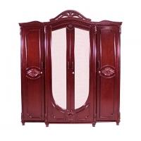 Nurjahan Furniture Victoria Design 4 Palla Almirah AA-04