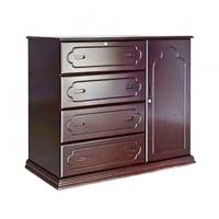 Nurjahan Furniture Wooden Wardrobe WD-01