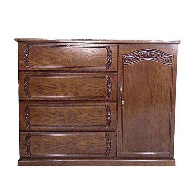 Nurjahan Furniture Wooden Wardrobe WD-03
