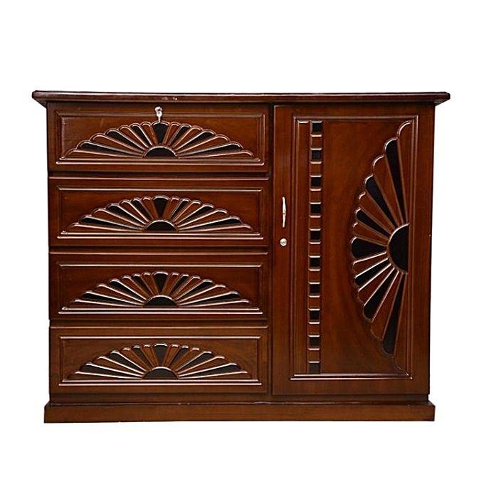 Nurjahan Furniture Wooden Wardrobe WD 22