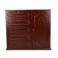 Nurjahan Furniture Wooden Wardrobe  WD 37