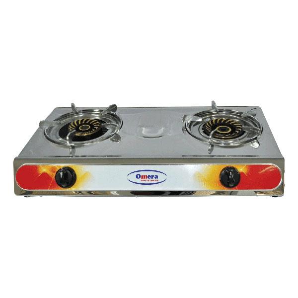 Omera Double Gas Burners ODB-204
