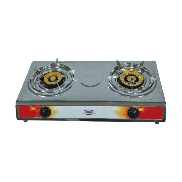 Omera Double Gas Burners ODB-208