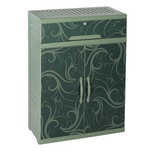 RFL Multipurpose Cabinet Green 91099