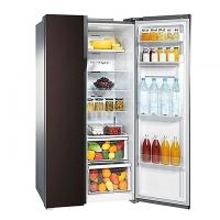 Samsung Side by Side Refrigerator RS554NRUA9M/TL