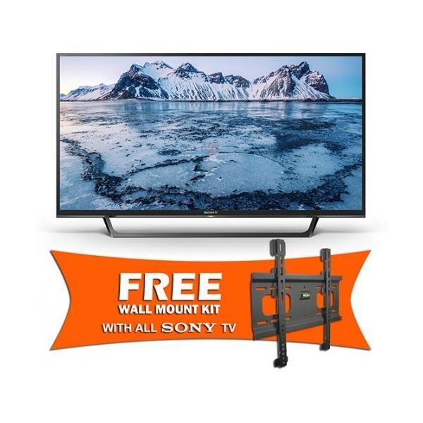Sony 48 Inch Lifelike Motion Wi-Fi LED Full HD TV W650D