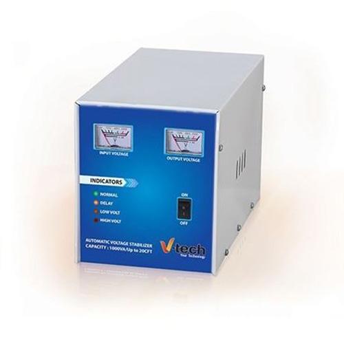 V-Tech Automatic Voltage Stabilizer 1000VA Upto 20 CFT