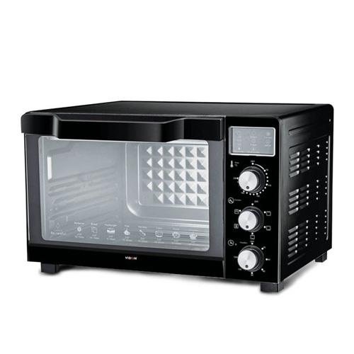 VISION Electric Oven 30 Ltr Black