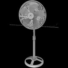 Walton Pedestal Fan WPF24B-PBC (Gray)