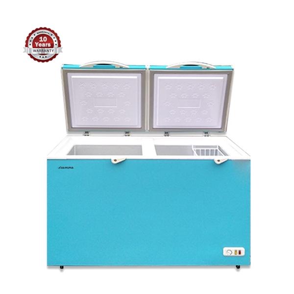 walton refrigerator JE 300L LIGHT BLUE